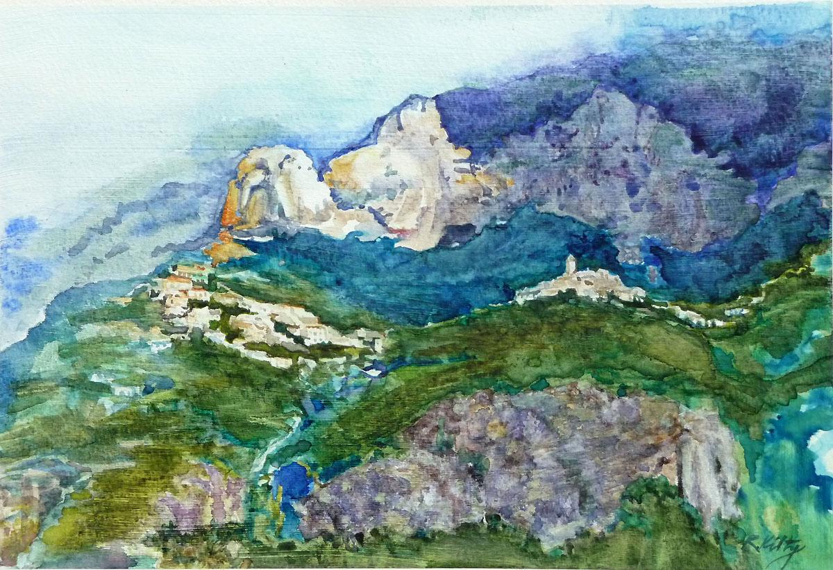 Amalfi Coast | Bobbi Kilty | Fine Artist