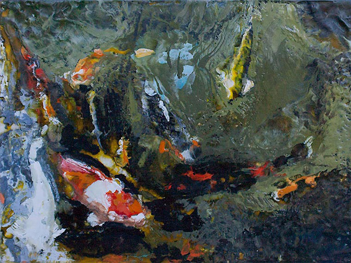 A lot of Koi Are Swimming | Bobbi Kilty | Fine Artist