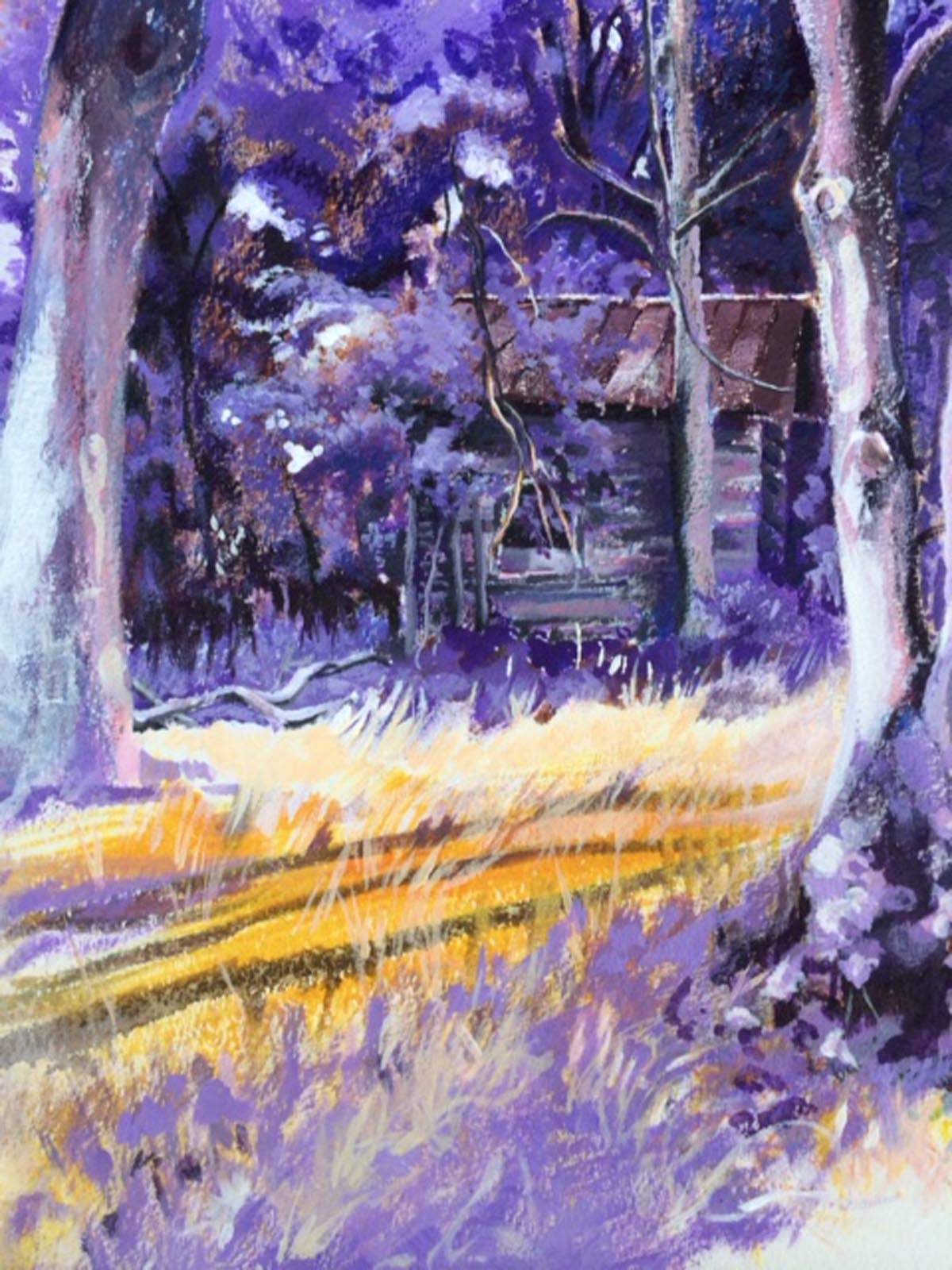 Cabin in the Wood | Bobbi Kilty | Fine Artist