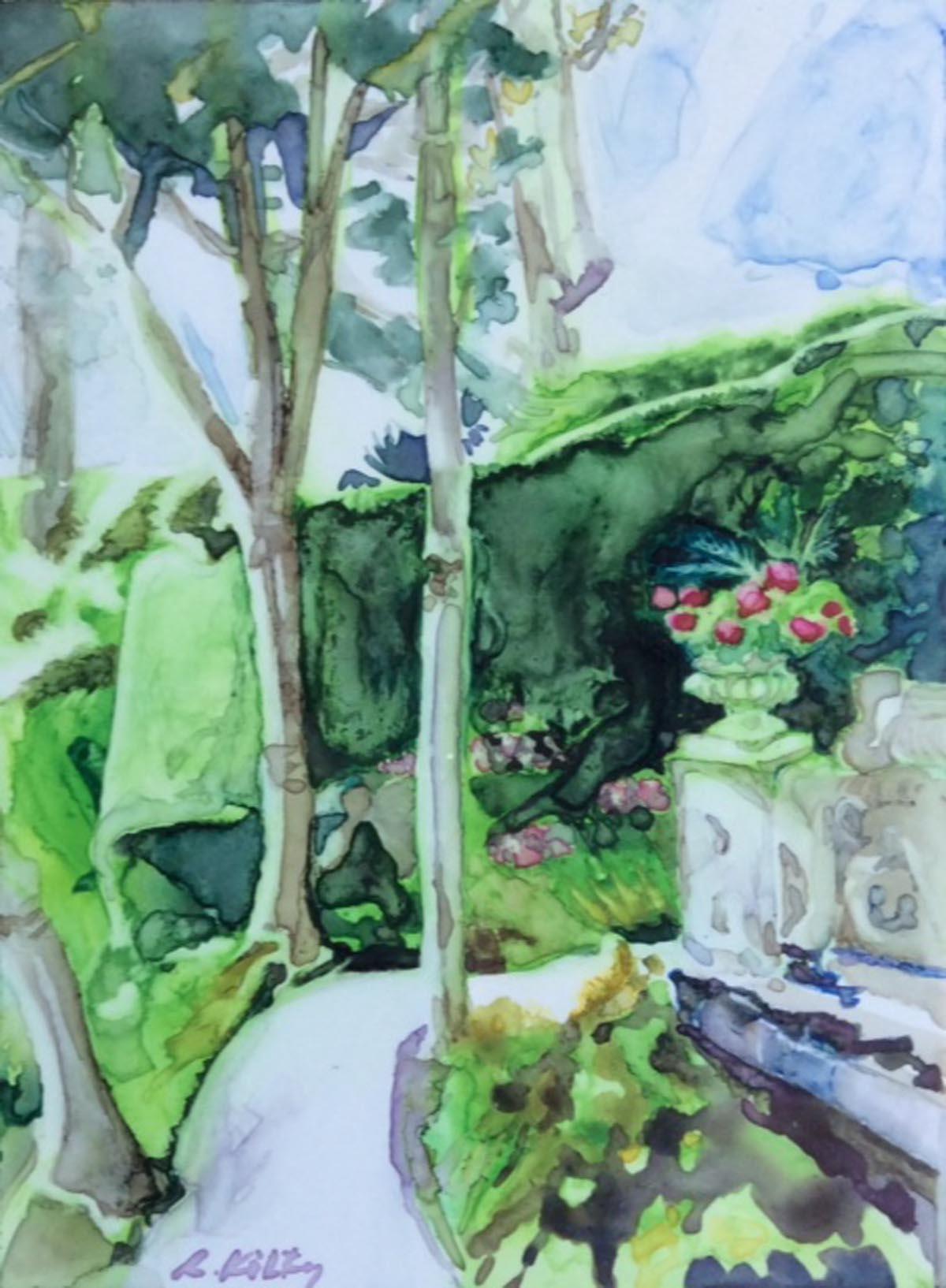 Italian Garden | Bobbi Kilty | Fine Artist