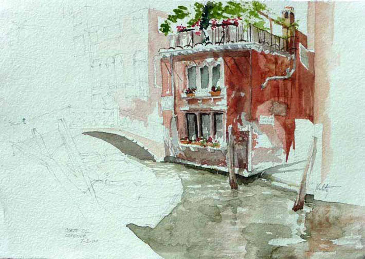 Corte De Cafetiere | Bobbi Kilty | Fine Artist