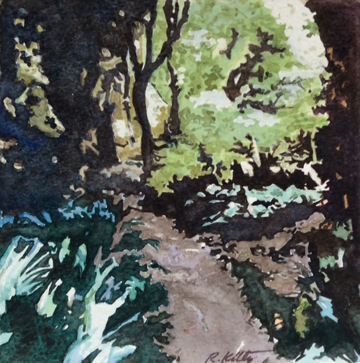 Garden Path Villa Carlotta | Bobbi Kilty | Fine Artist