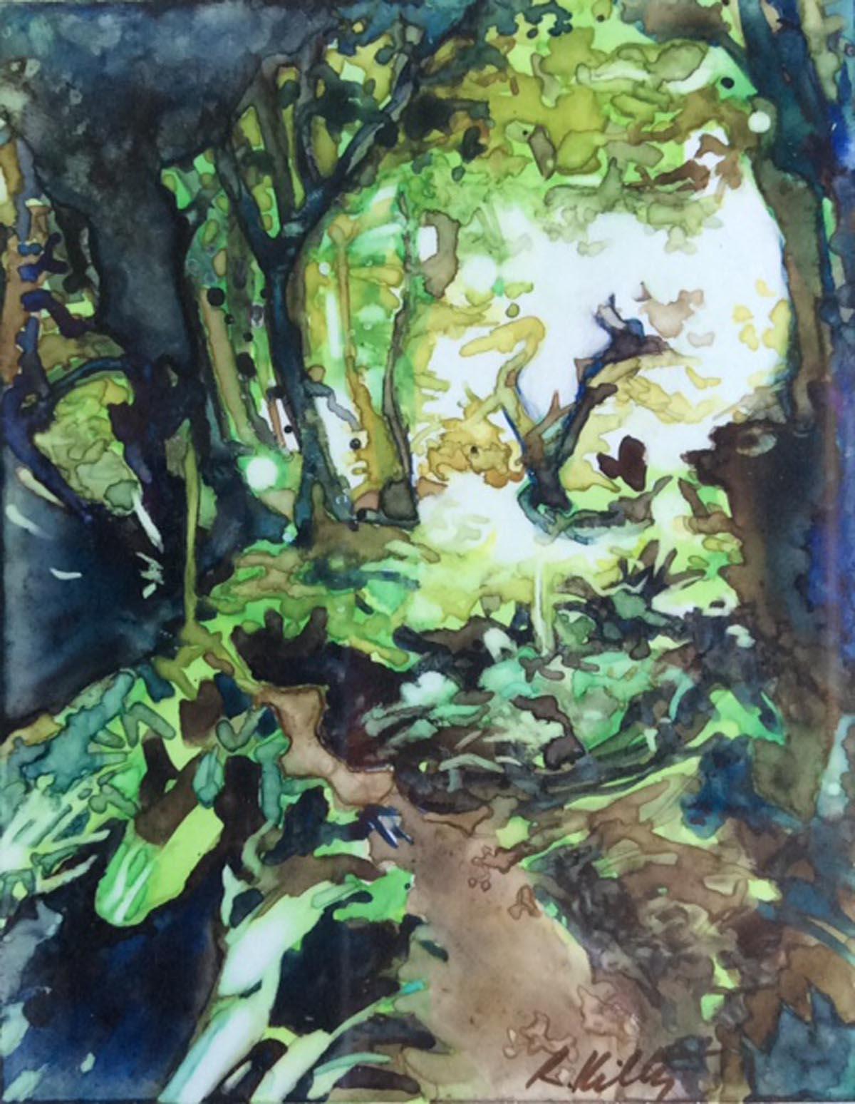 Carlotta Garden Path | Bobbi Kilty | Fine Artist