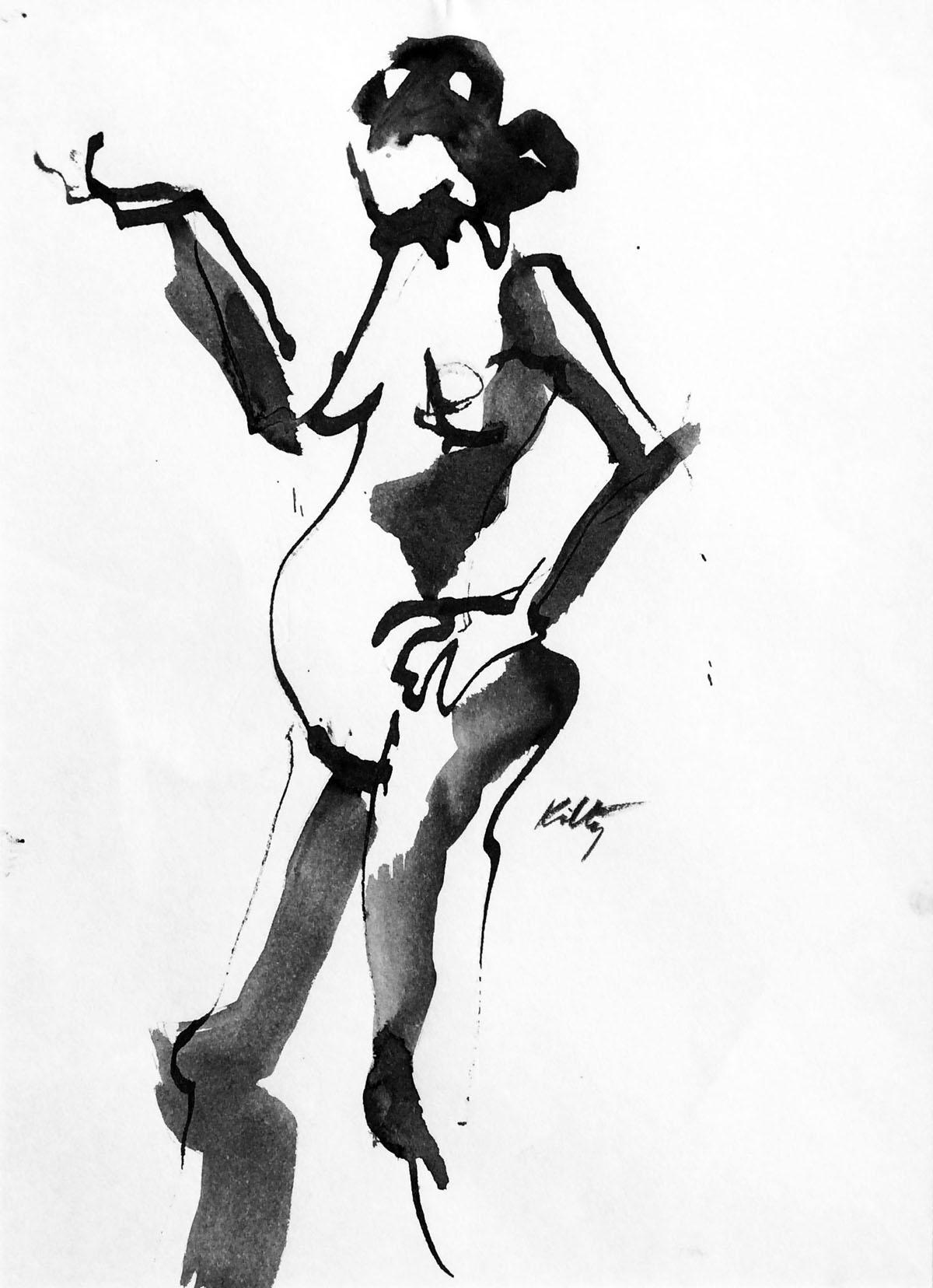 Hip Action | Bobbi Kilty | Fine Artist