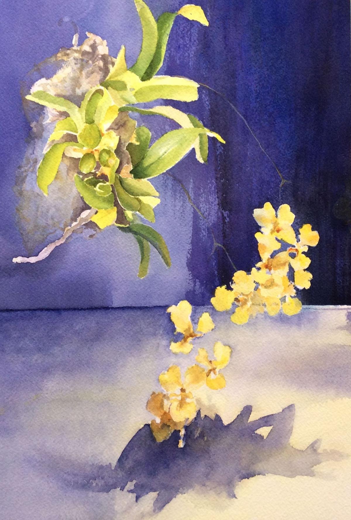 Oncidium Macrophyllum | Bobbi Kilty | Fine Artist