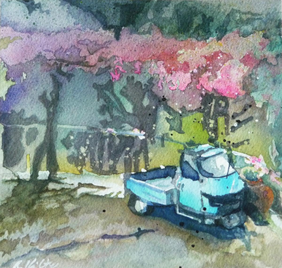 Piaggio Ape` | Bobbi Kilty | Fine Artist
