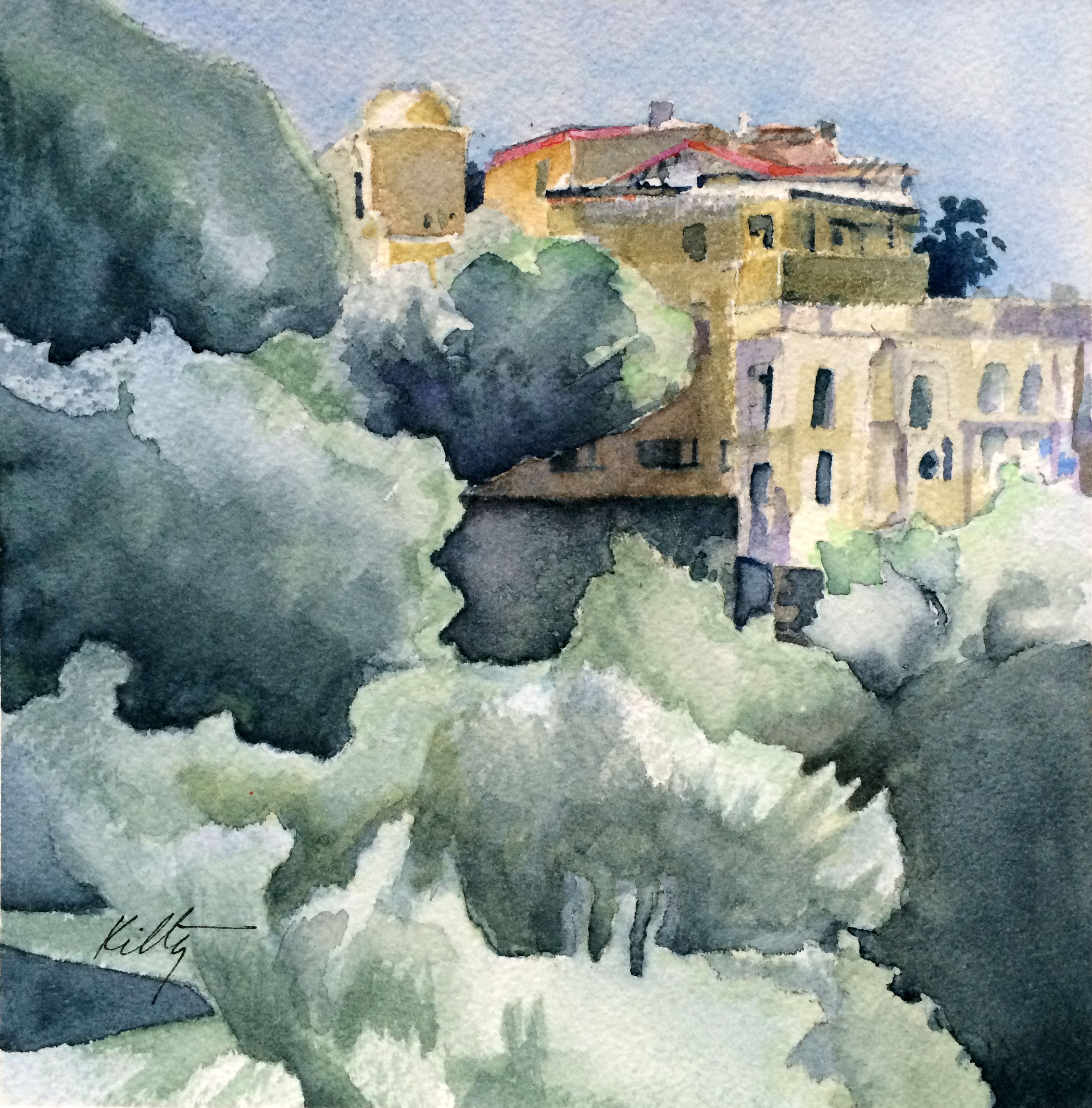 Ravello Hilltop | Bobbi Kilty | Fine Artist