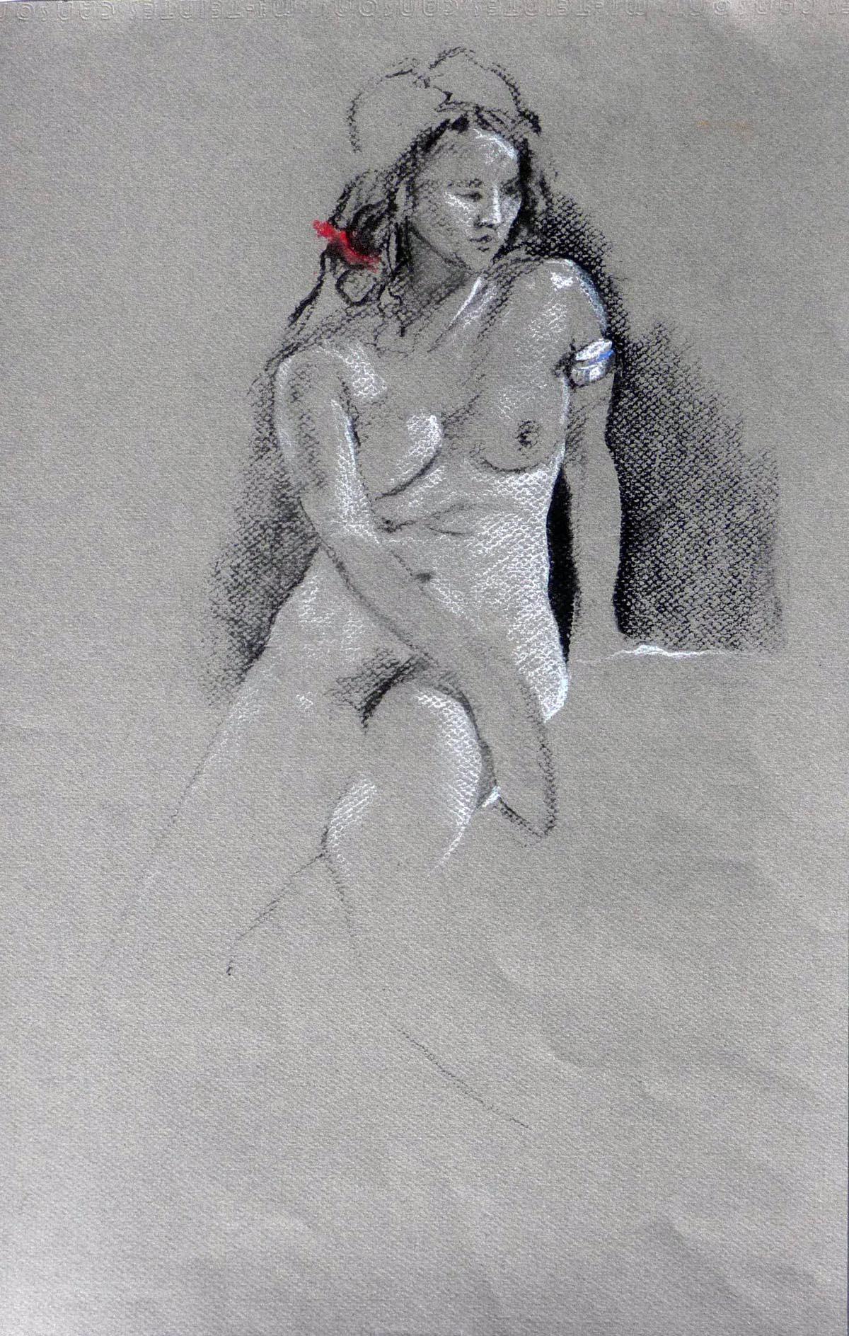 Red Ribbon | Bobbi Kilty | Fine Artist