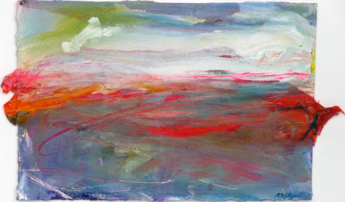 Redscape II | Bobbi Kilty | Fine Artist
