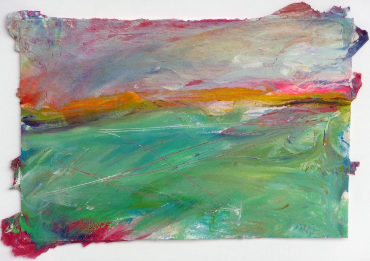 Redscape I |Bobbi Kilty | Fine Artist