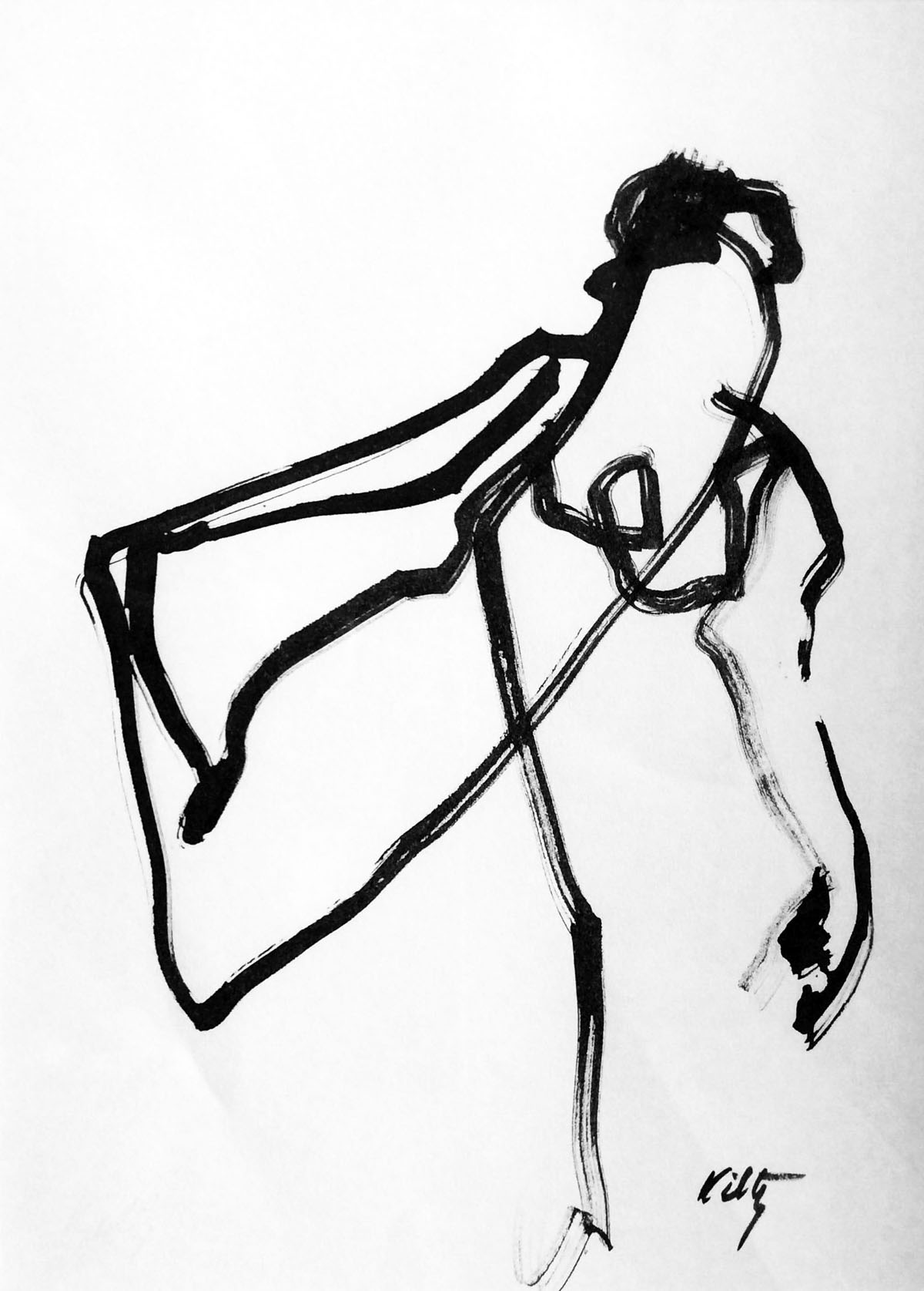 Running Woman | Bobbi Kilty | Fine Artist