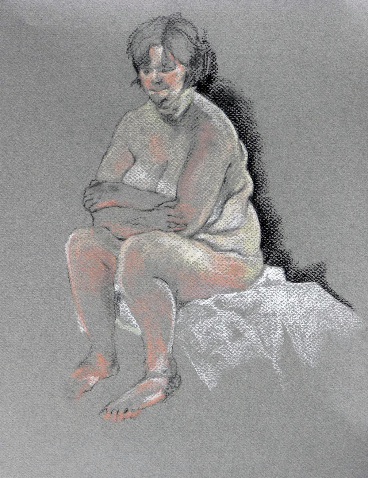 Seated Nude | Bobbi Kilty | Fine Artist