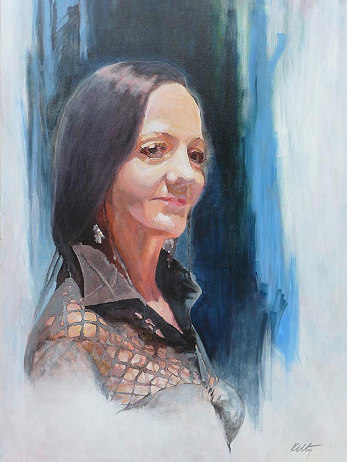 Portrait of Tracy | Bobbi Kilty | Fine Artist