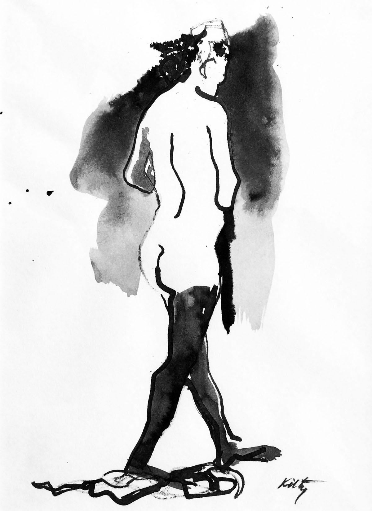 Walking in Tites |Bobbi Kilty | Fine Artist