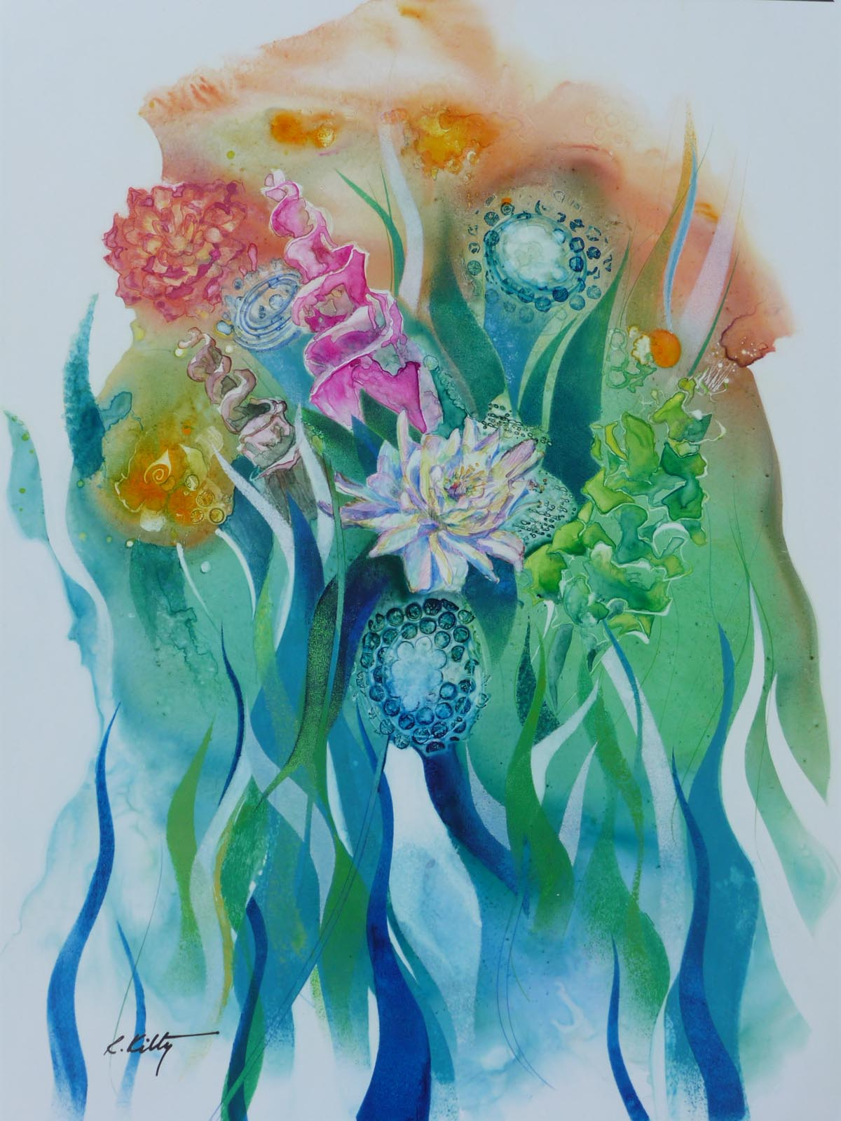 The Bouquet | Bobbi Kilty | Fine Artist