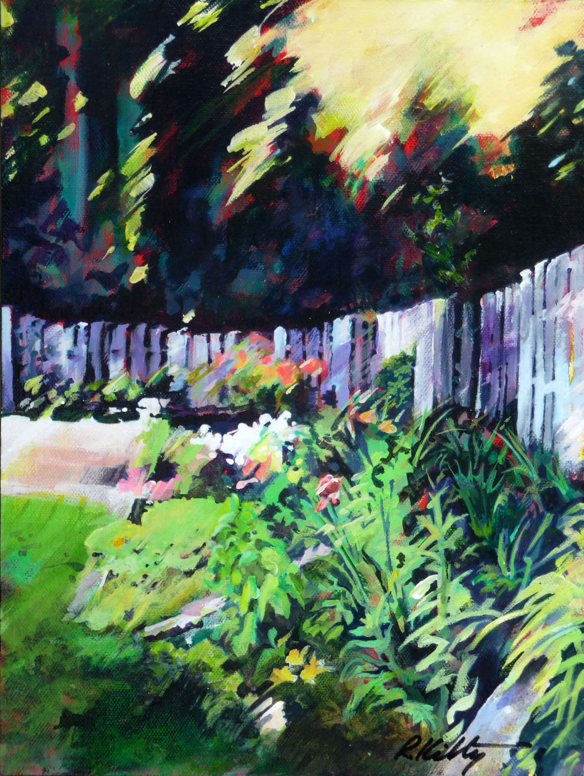Summer Garden | Bobbi Kilty | Fine Artist