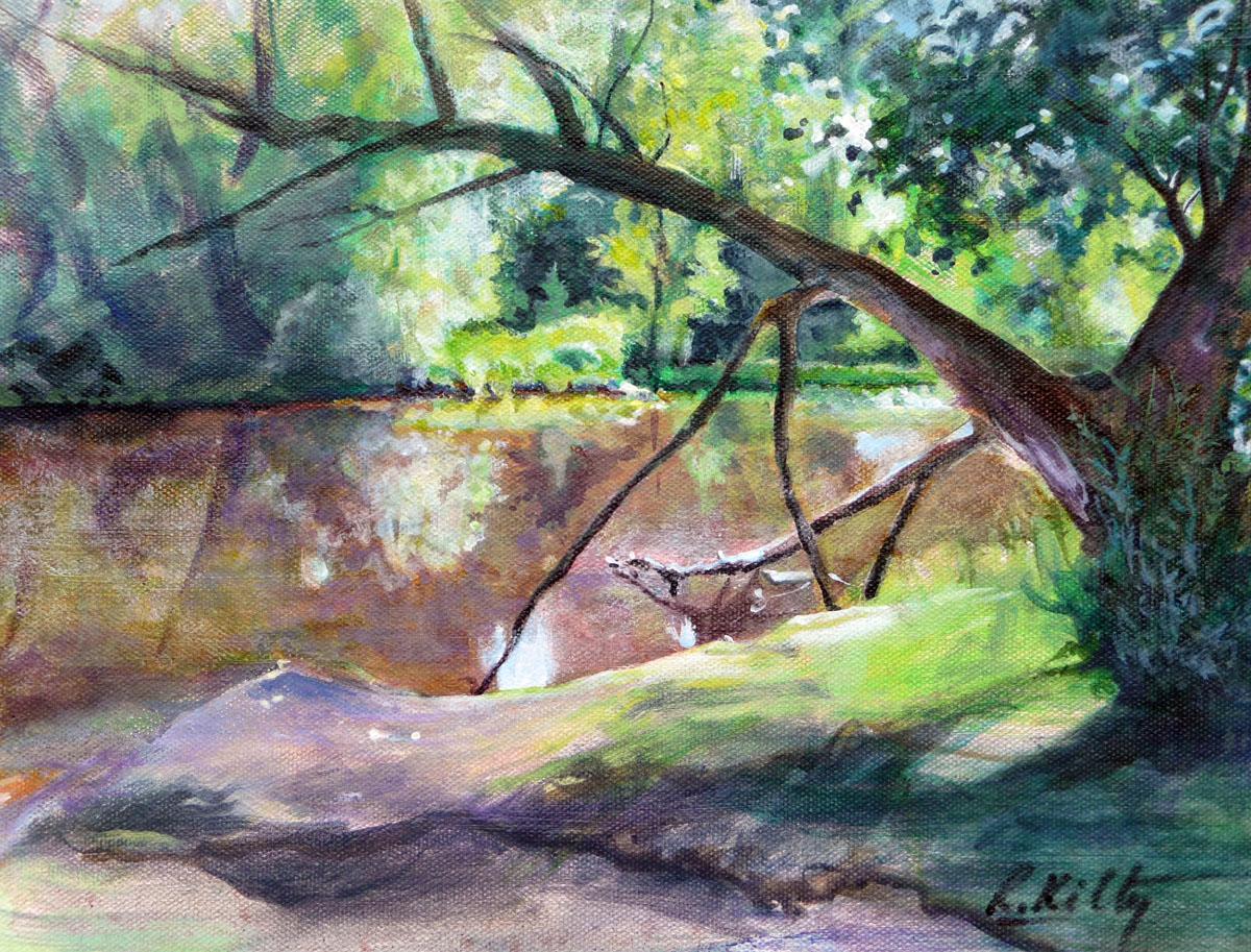 The Old Fishing Hole | Bobbi Kilty | Fine Artist