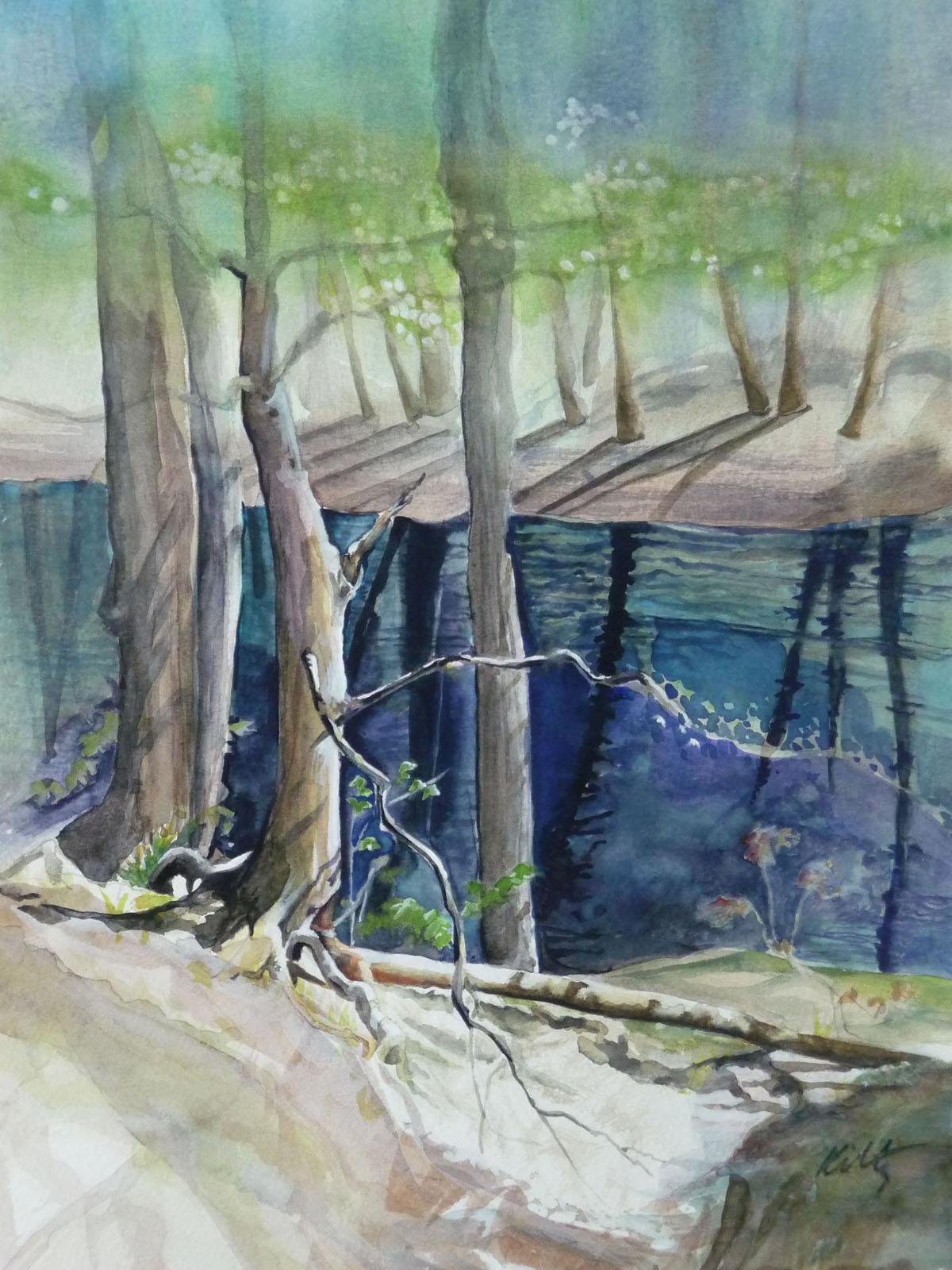 Haunted Waters | Bobbi Kilty | Fine Artist