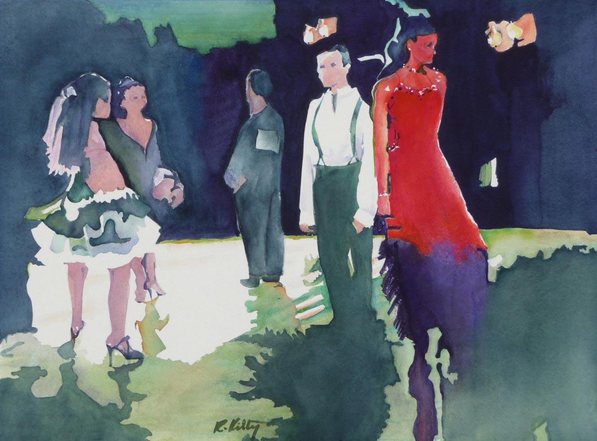 Lady in Red | Bobbi Kily | Fine Artist