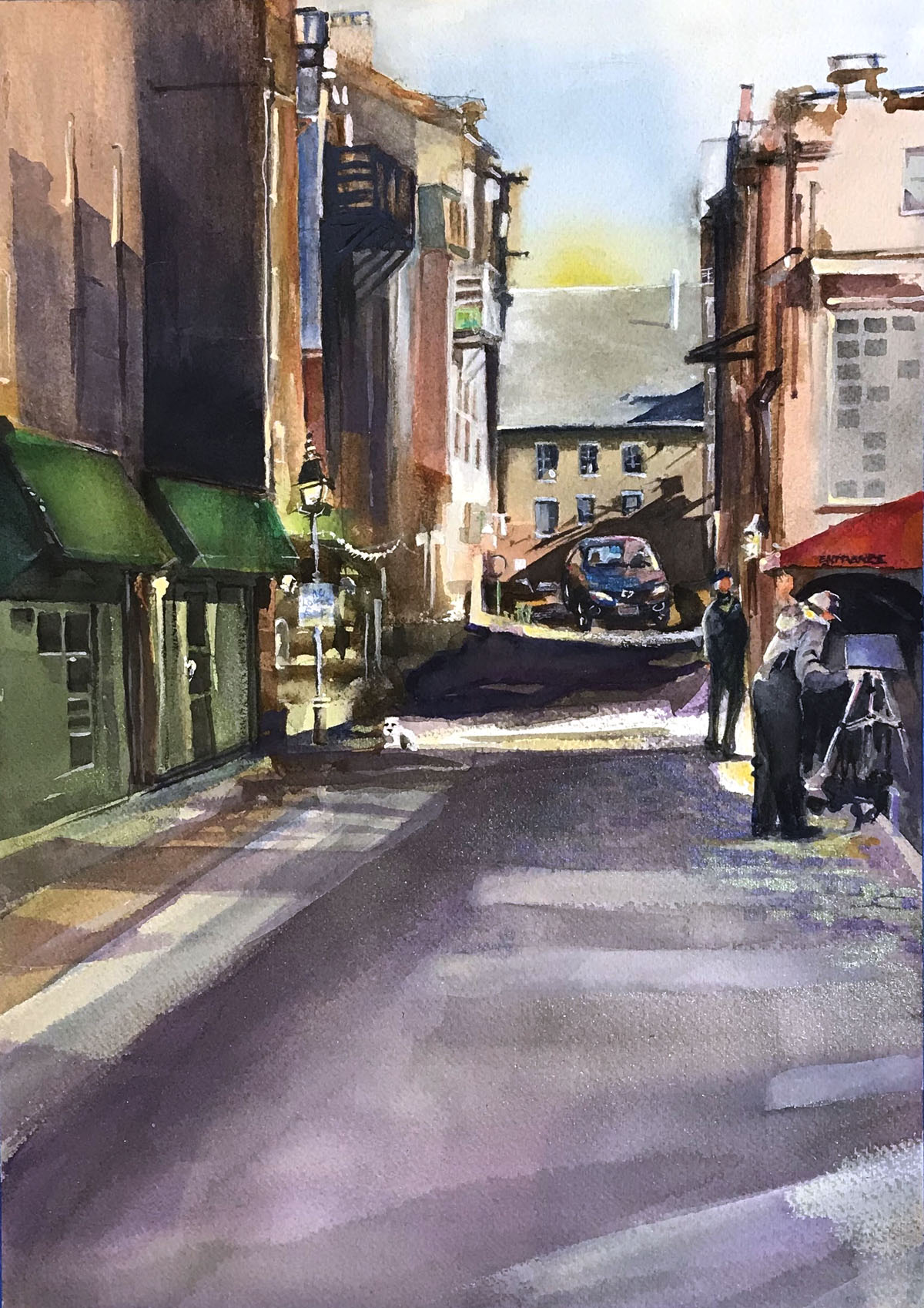 Side Street, Portland, Maine | Bobbi Kilty | Fine Artist