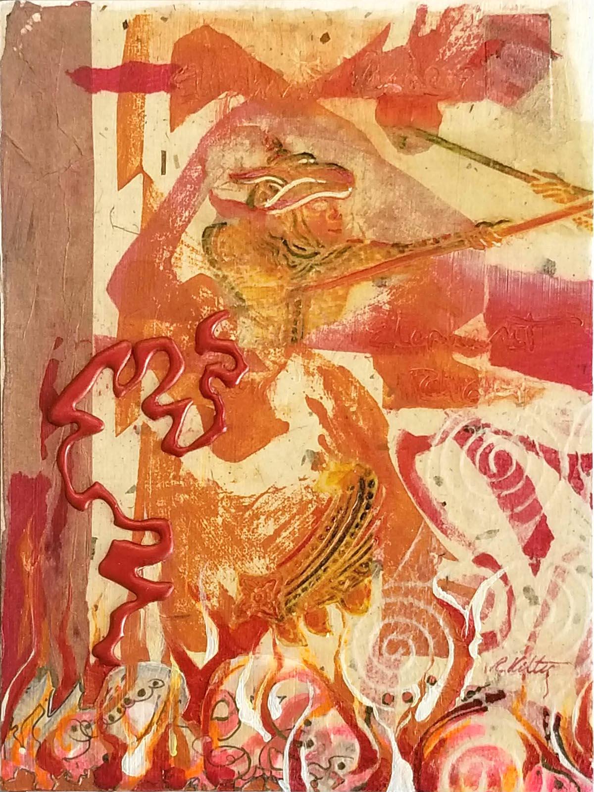Elephant Rider | Bobbi Kilty | Fine Artist