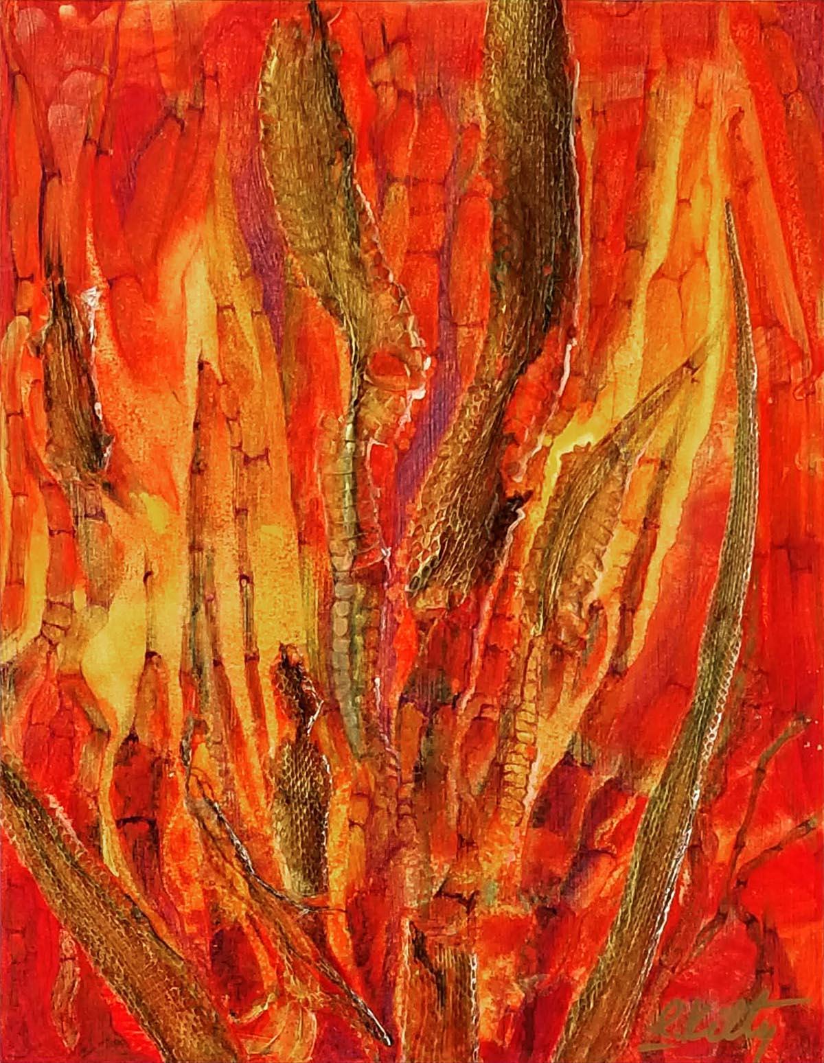 Snake Grass | Bobbi Kilty | Fine Artist