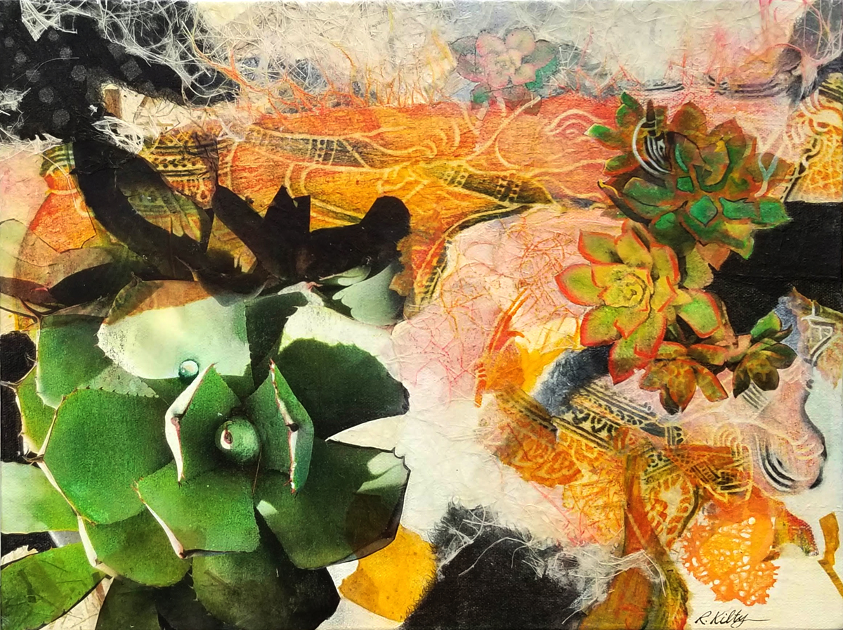 Agave, Aeonium, and Old Lace | Bobbi Kilty | Fine Artist