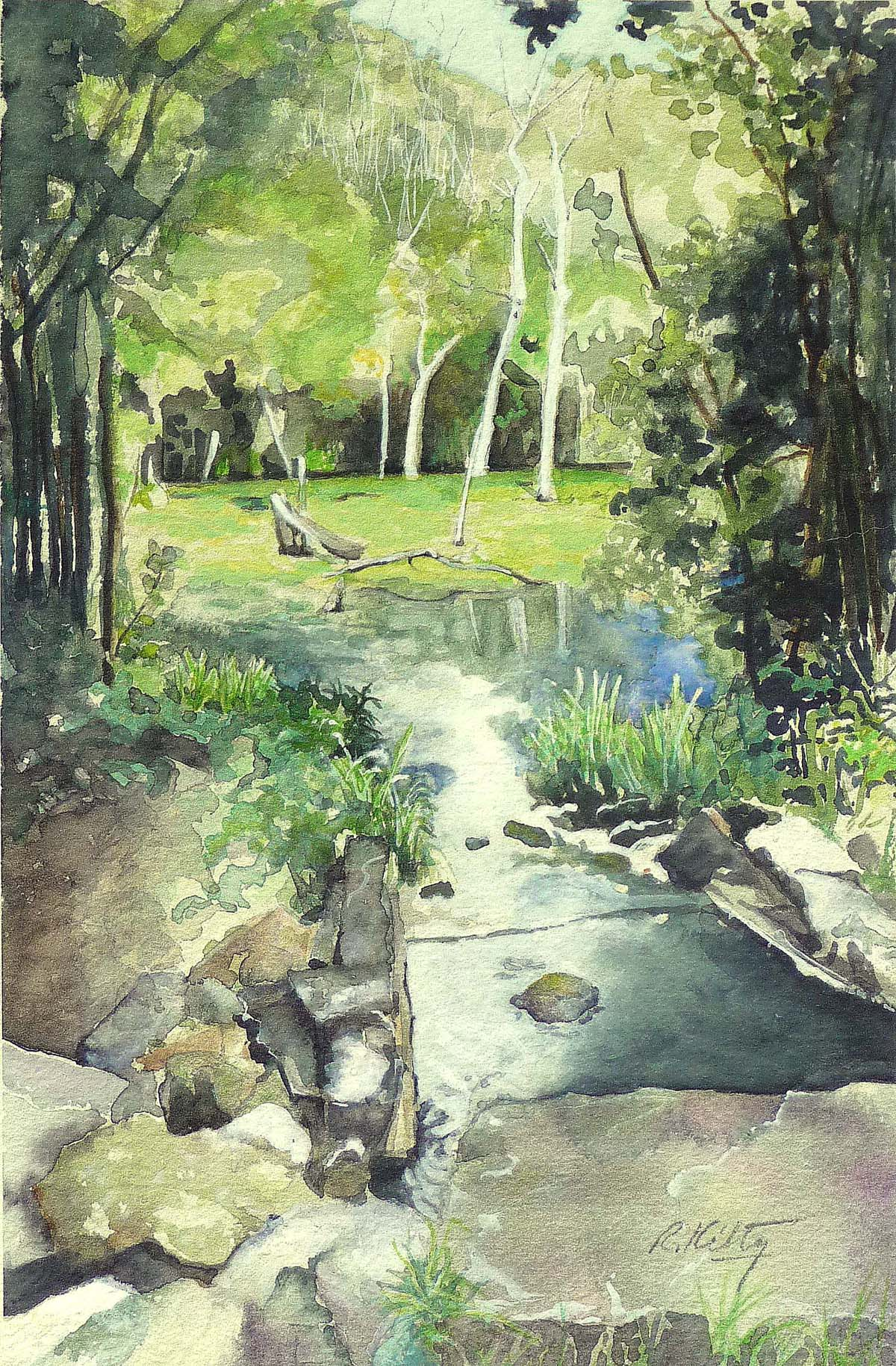 Inlet | Bobbi Kilty | Fine Artist