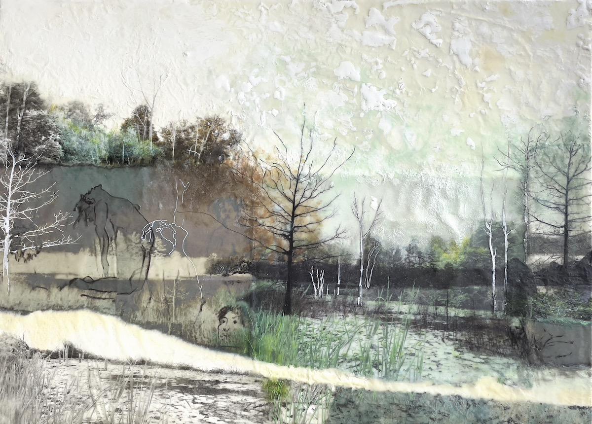 Druids on the River Bank | Bobbi Kilty | Fine Artist