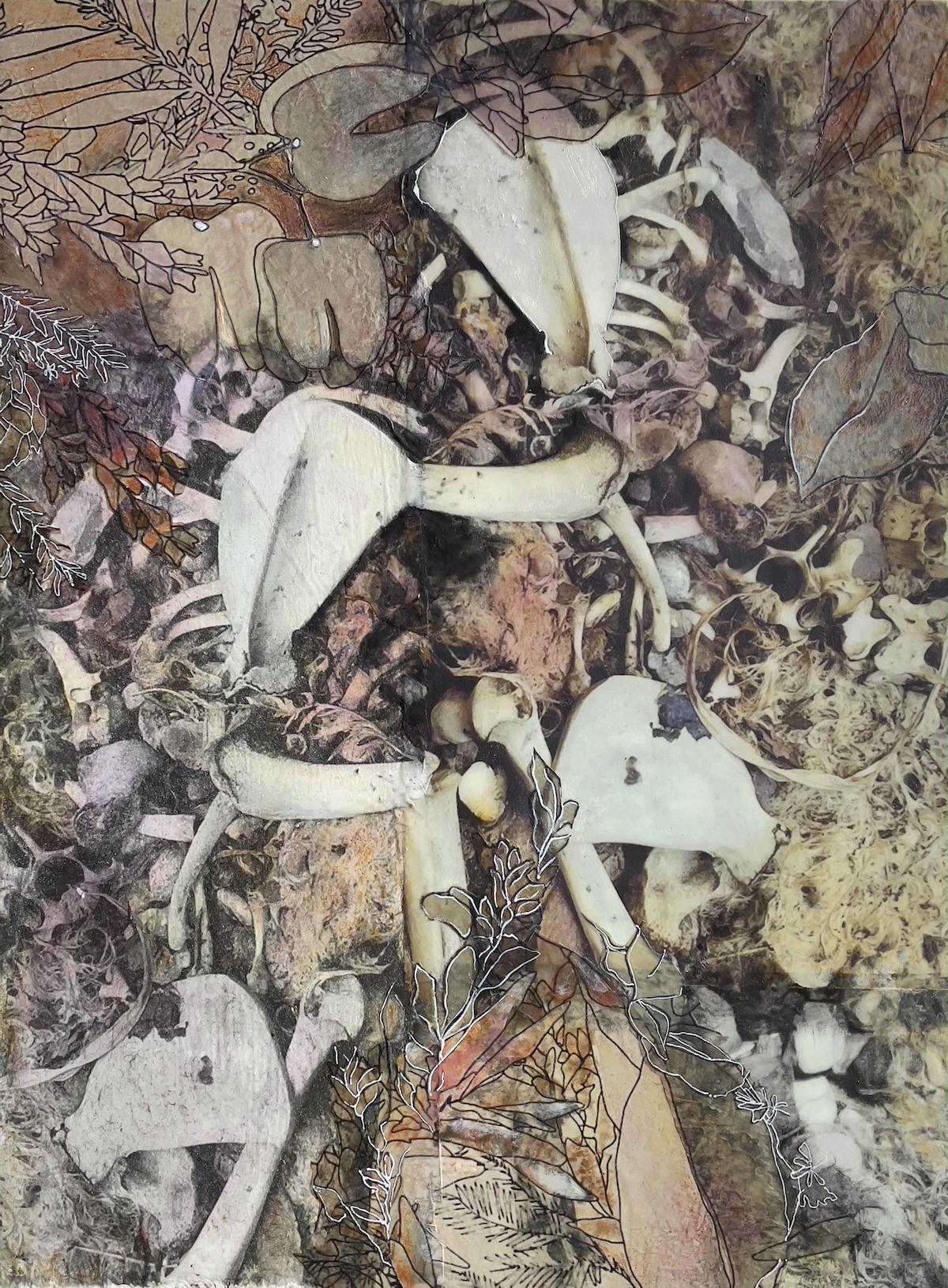 Dry Leaves and Bones | Bobbi Kilty | Fine Artist