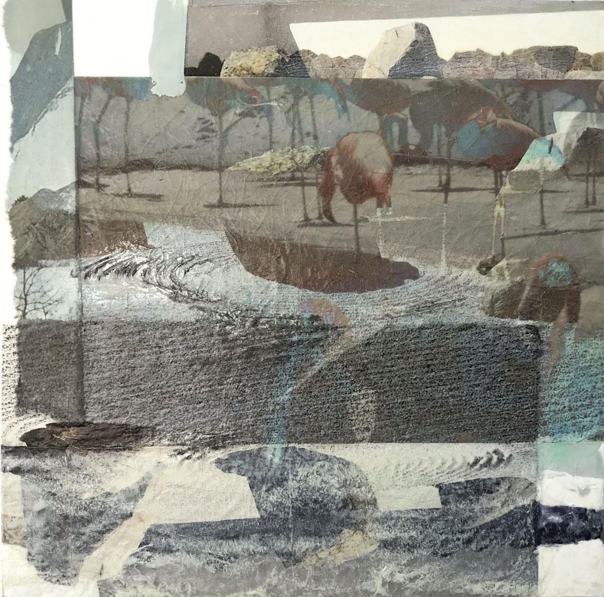 Flamingoes in a Zen Garden | Bobbi Kilty | Fine Artist