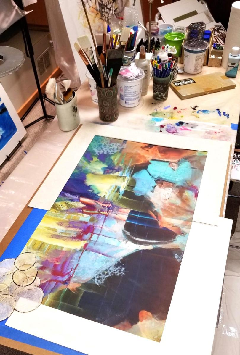Painting In Process | Bobbi Kilty | Fine Artist